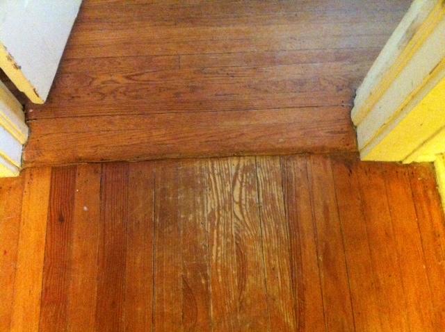 Hardwood floor after coconut oil