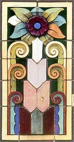 Terra Cotta panel from Halliburton-Abbott Building