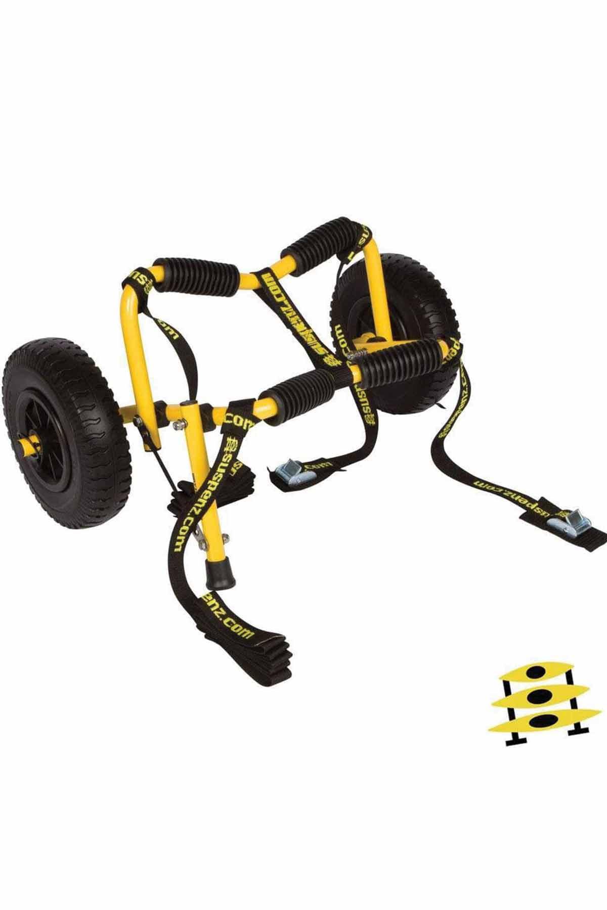 suspenz sk stowable airless cart