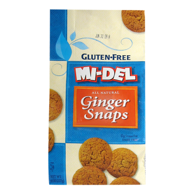 Mi Del gluten and dairy free ginger snaps
