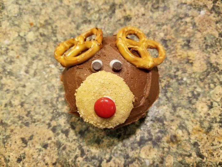 Reindeer cupcake_1