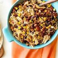 gluten, dairy free crockpot tex-mex chicken