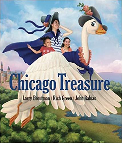Children's book Chicago Treasure