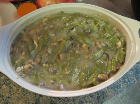 green bean casserole homemade