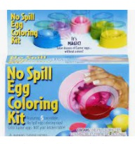 Image of a no-spill Easter egg decorating kit