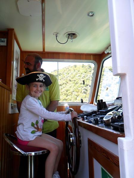 Nos convertimos en capitana de barco
