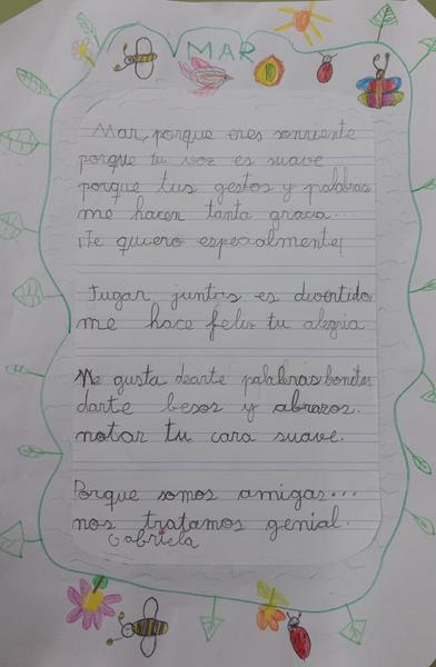 Poesía de Gabriela