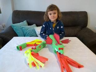 dragón diana