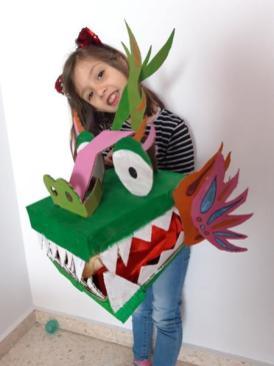dragón macarena