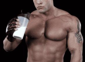 leche para el culturista