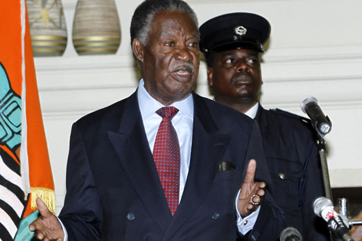 Sata Says He's Fit  And Has Not Been Evacuated