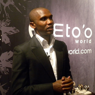 Eto'o launches Set'Mobile