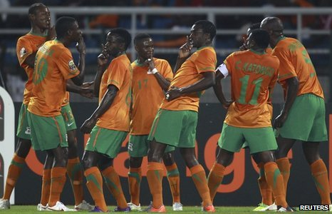 Zambia Placed In Group C In AFCON 2013