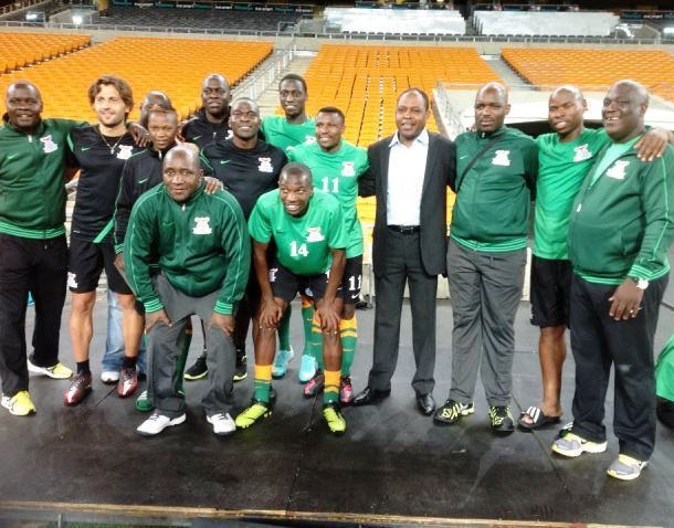 Full Time: Zambia 1-0 South Africa