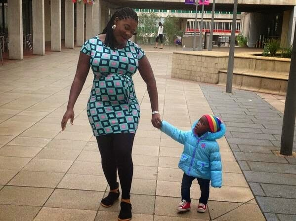 Photos: Heavily Pregnant Mercy Johnson Spotted In The UK
