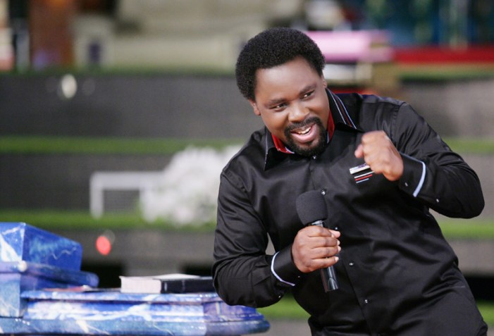Prophet TB Joshua Refuses to Take Financial Offerings