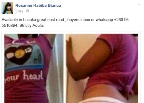 Sex hook up sites zambia