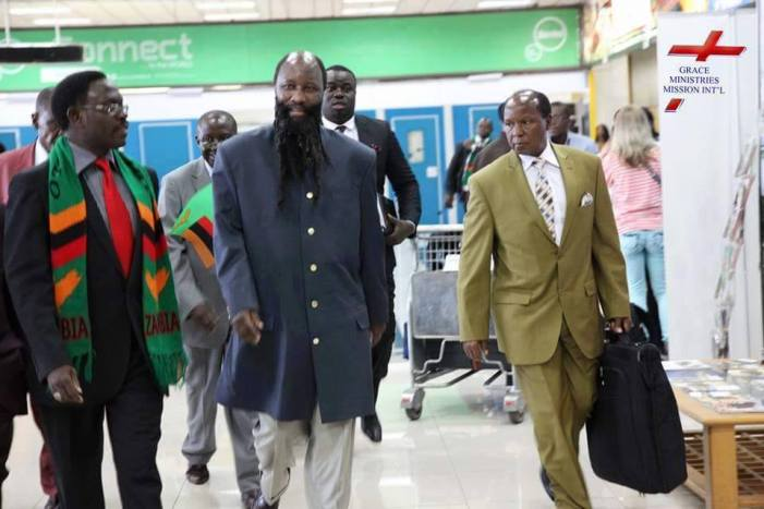 Zambian Pastor Says Kenyan Prophet Owuor  Visiting President Lungu Is FAKE, Challenges Him