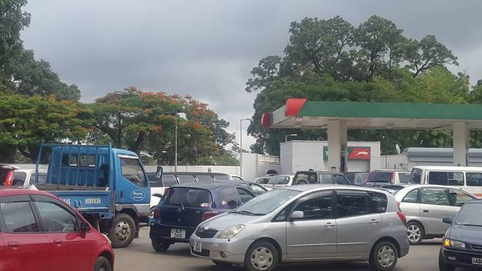 Fuel Shortage In Lusaka Ends