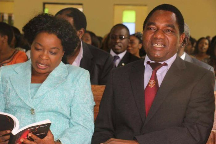 HH Forgives Apostle Sunday Sinyangwe, Asks Nation to Focus On Economic Problems