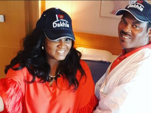 Omotola And Husband Move Into Their New House