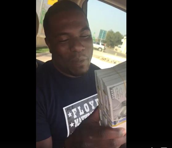 Young Kitwe Businessman Shows Off US$50, 000 in Cash