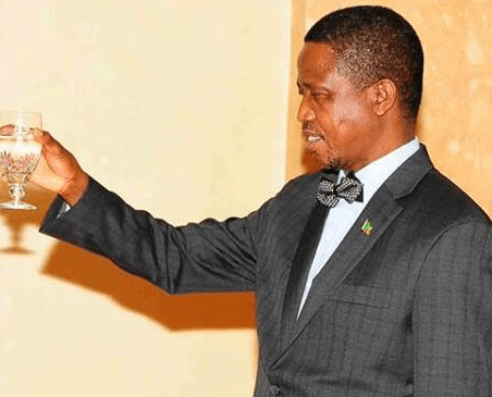 PHOTO: HH Wished President Lungu A Happy Birthday And Many More YEARS!