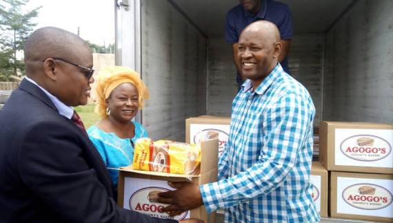 Granny's Bakery Donates to Government In View Of The Cholera Outbreak