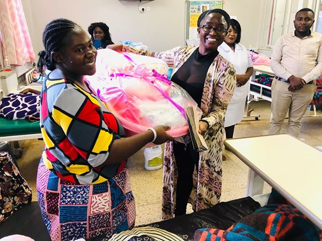 Jane Kaonga Chanda Spends Her 50th Birthday In Style, Gives Out Hampers To Newborns.