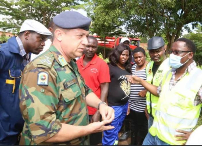 Photo: This is Brig Gen Collins Barry from the Zambia Air Force (ZAF).