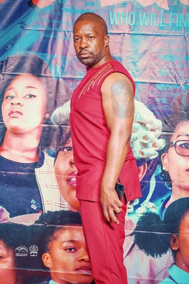 Photo: Pastor Kangwa Chileshe at the premiere of movie Girls to Ladies over the weeken