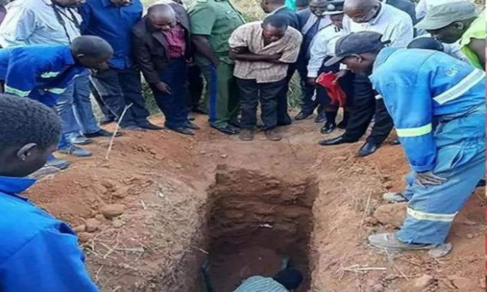 PASTOR BURIES CHIPATA TRADITIONAL HEALER ALIVE