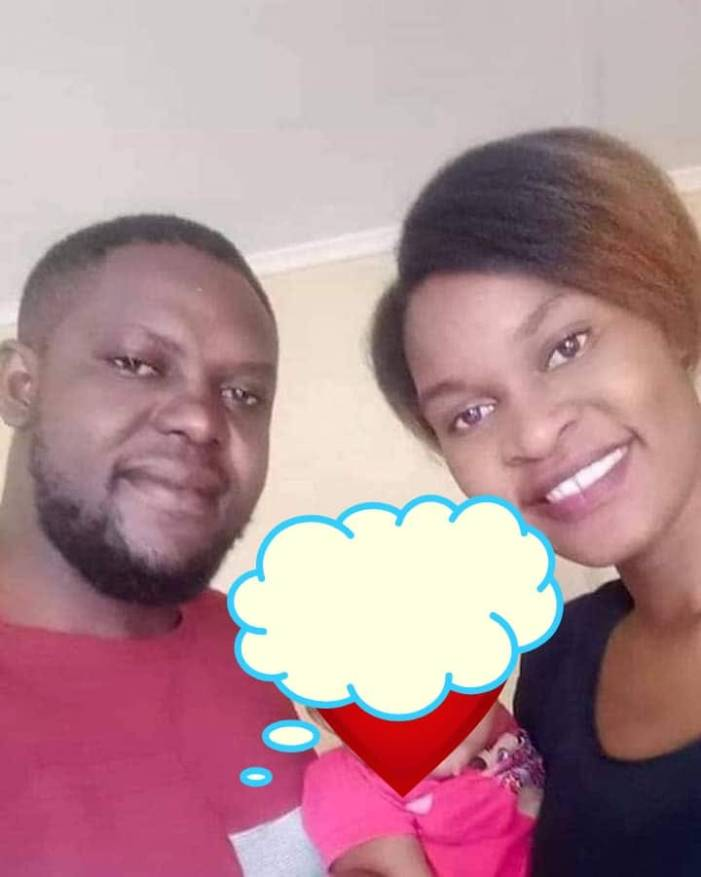 SAD: Photo of a truck driver and his wife who was murdered by an ex-prisoner