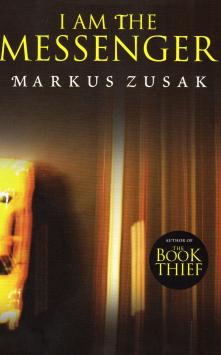 This image may be republished, I AM THE MESSENGER By Marcus Zusak Published by Definitions / Random House ISBN 978 1 909 53136 9 This cover is for Sunday Young Post book review to be published on May 3, 2015.