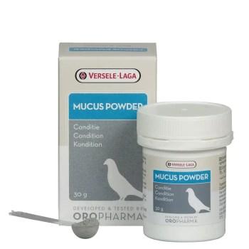 Oropharma mucus powder