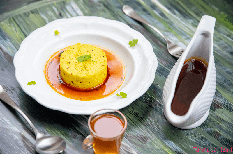 Khichdi with Kokum Saar - perfect comfort food for lazy days
