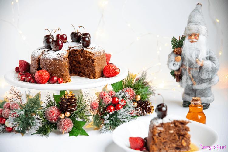 Christmas cake main