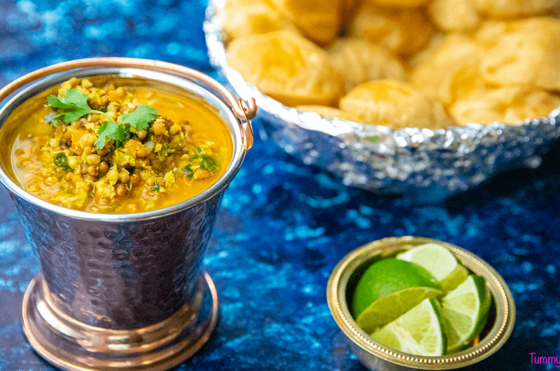 Sattvic Matki Curry - A wholesome low calorie recipe that is a vegan lovers delight