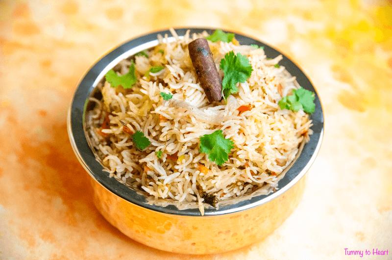 Kolhapuri Masala Rice - An important component of every Maharashtrian Thaali