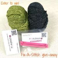 Win a Fix-a-stitch (and bonus yarn)