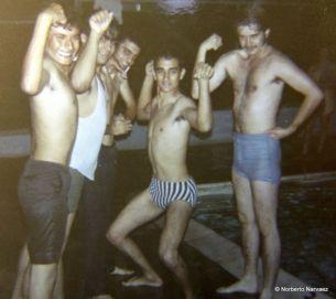 Luis, Rafy, ?, Julio Caballero, Pedro