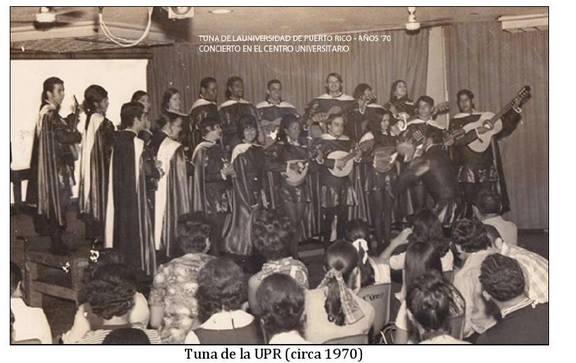 Tuna UPR- Década 60 – Celebración XXX Aniversario