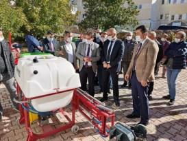 """Tunceli'de """"Bitkisel Üretimi Artırma"""" projesi"""