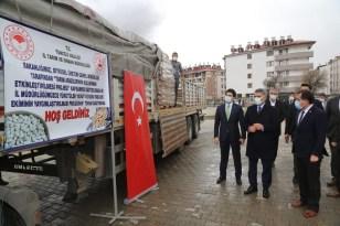 Tunceli'de atıl araziler tarıma kazandırılıyor, 236 çiftçiye 56 ton tohum desteği