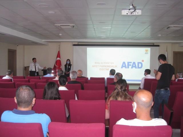 Tunceli'de Afet Farkındalık Eğitimi
