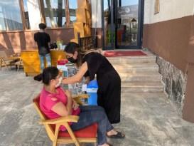 Tunceli'de aşı seferberliği sürüyor