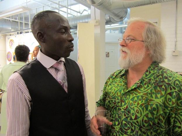 Oritsemeyiwa Abalo and Jake Homiak