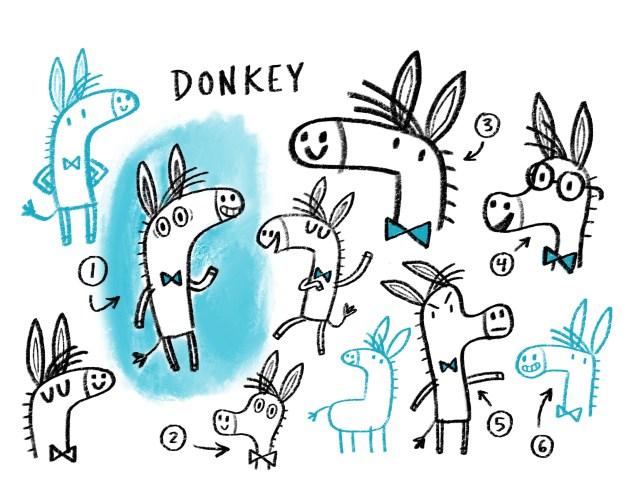 Ben Clanton_donkey