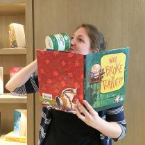 Knopf & Random House Canada Editorial Assistant got behind Who Broke the Teapot?!