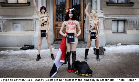 suecia Femen